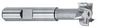 Schaftfräser HSS-E für T-Nuten DIN 650