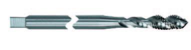 Extra lange Maschinengewindebohrer Rasant®, M, ISO 2 (6H), DIN  371