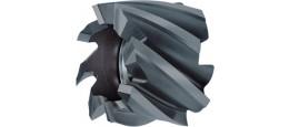 Walzenstirn-Schlichtfräser, beschichtet